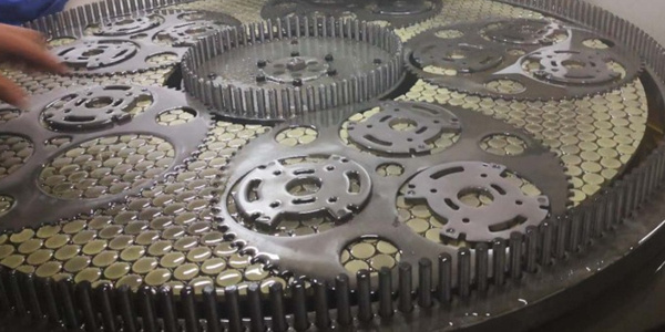 pum parts surface lapping