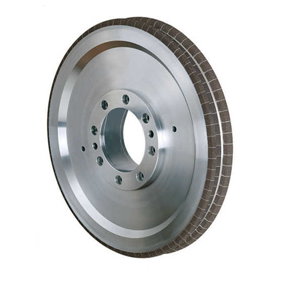 crankshaft grinding - vit cbn wheel