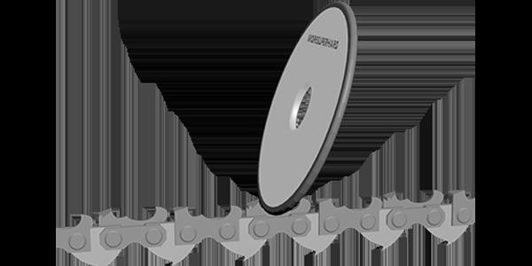 chainsaw sharpening wheels