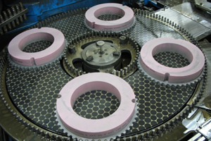 dressing double disc grinding wheel