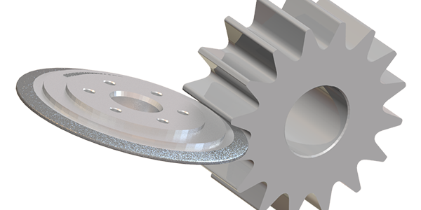 electroplated diamond wheel for gear grinding